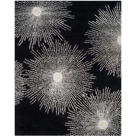 10 x 14 black and white rug safavieh soho black white wool 10 ft x 14 ft area rug