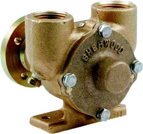 water raw pump  crusader marine engines sherwood   shee  marine engine