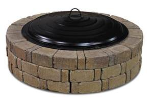 Backyard Creations Pit Lid Backyard Creations 31 Quot Ring Lid At Menards 174