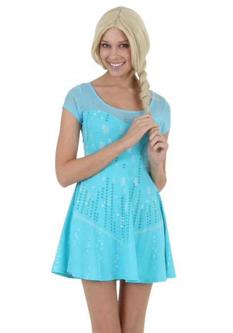 Mukena Frozen Elsa Size M womens i am elsa frozen dress