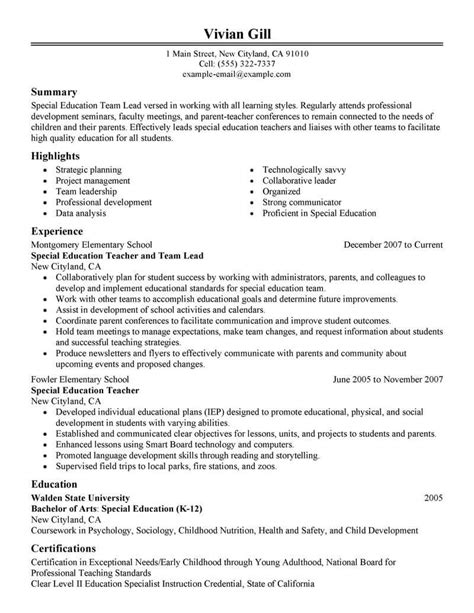 Best Team Lead Resume Exle Livecareer Team Lead Resume Template