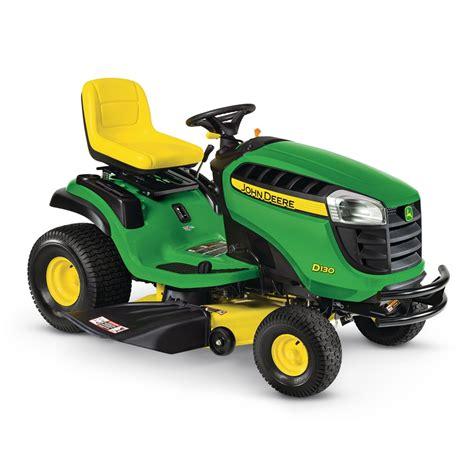 Lowes Garden Tractors by Deere D130 22 Hp V Hydrostatic 42 In Lawn