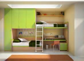 Kids Bunk Beds With Desk 12 Kids Bedrooms With Cool Built Ins