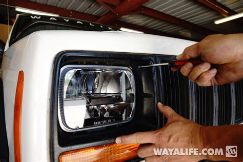 Jeep Xj Led Headlights Truck Lite Led Headlight Installation Write Up For A Jeep