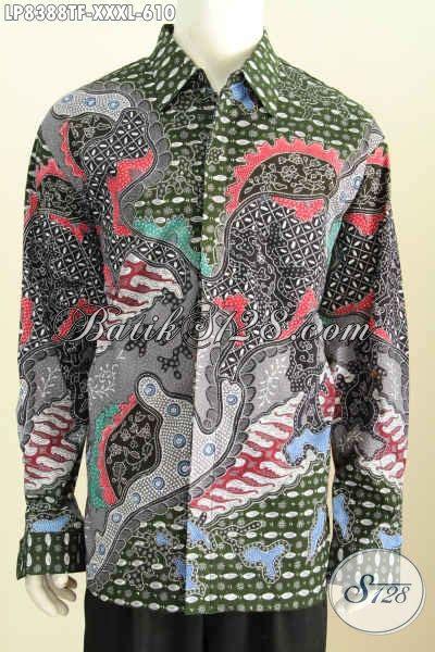 Jual Baju Ukuran Besar Pria Jual Baju Batik Pria Ukuran Besar Model Lengan Panjang