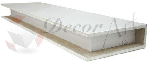 mensole di cartongesso mensole in cartongesso su misura pronte per il montaggio