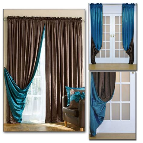 reversible luxury faux silk curtains reversible luxury faux silk slot top heading curtains
