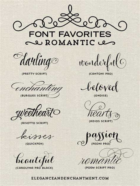 tattoo fonts romantic font favorites blogging fonts and