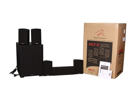 martinlogan mlt 2 5 1 ch premium home theater speaker