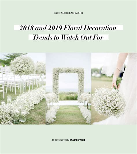 2018 2019 Floral Decoration Trends   Hong Kong Wedding Blog