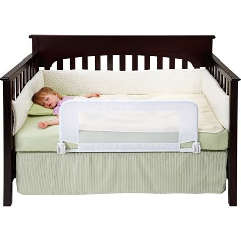 Baby Crib To Bed Dex Baby Safe Sleeper Convertible Crib Bed Rail Walmart
