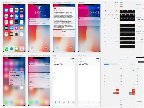 layout app help ios ui kit android gui templates responsive layout