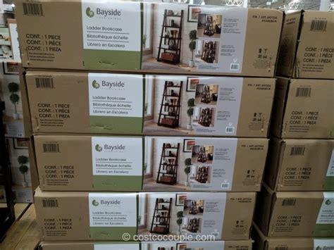 bayside furnishings ladder bookcase bookshelf costco 28 images bookcase costco shopping