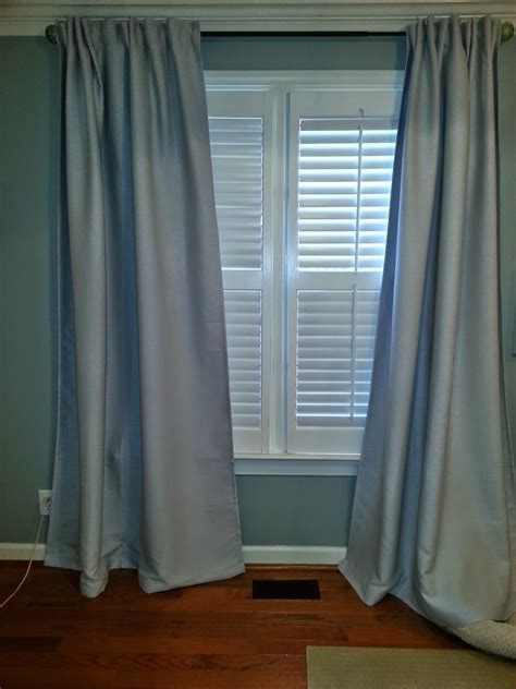 how to hang ikea curtains decor you adore ikea bletviva life hack how to train