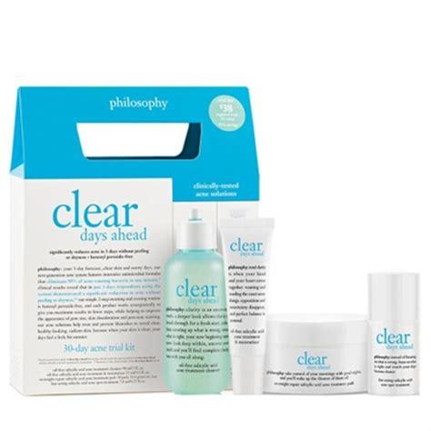 Salvador Ferragamo Size 39 philosophy clear days ahead 30 days acne trial 4 pieces kit