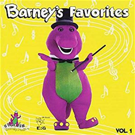 7 Great Cds For Children by Barney Barney S Favorites Vol 1
