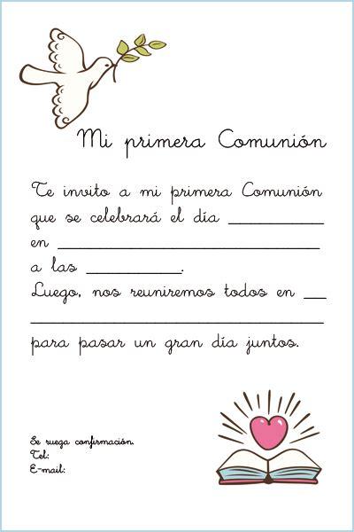 invitacion de primera comunion dibujo comunion on pinterest digi sts first communion and