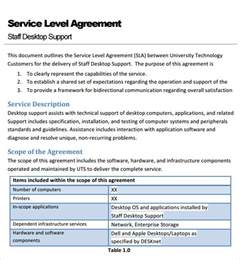 Service Provider Agreement Template by Sle Service Agreement Template 6 Free Documents