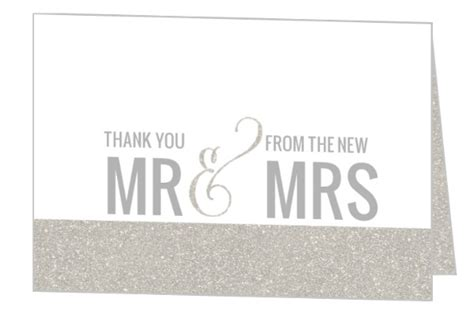 Thank You Card Wedding Gift - wedding thank you card wording sles sayings etiquette ideas
