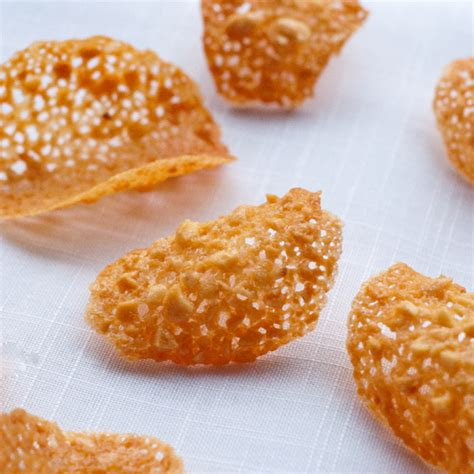 Recipe For Tuiles by Fridays With Dorie Almond Orange Tuiles Eat