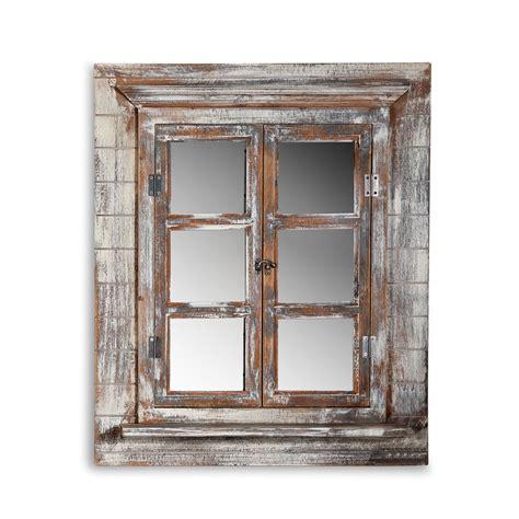 dekor spiegel deko spiegel fensterladen bilderrahmen shabby holz spiegel
