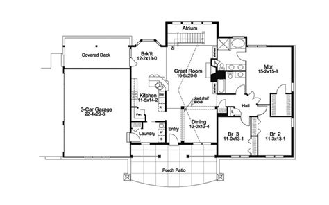berm home floor plans 32 best images about atrium ranch homes on new construction ranch style house and