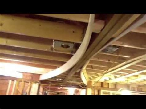 How To Make A Curved Ceiling by One Shows How He Built The Curved Ceiling The Cape