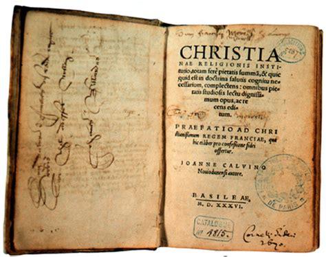institucin de la religin hacia el jubileo de juan calvino 2009 470 a 241 os de la instituci 243 n de la religi 243 n cristiana l