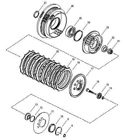 Clutch Parts Diagram