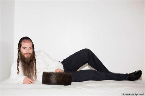 israeli men in bed model american apparel ads banned