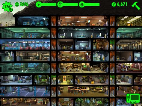 fallout shelter app layout guide build the perfect underground vault in fallout shelter