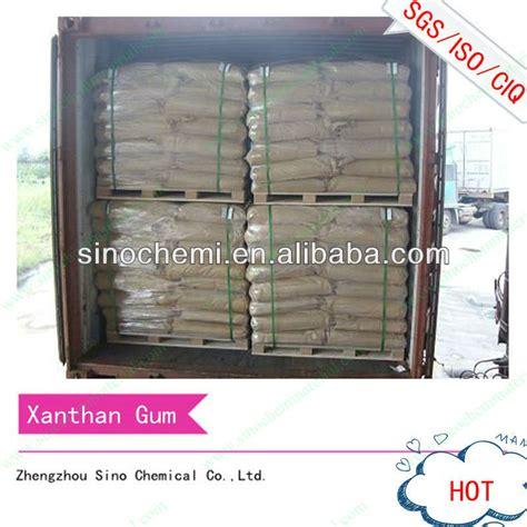 Xanthan Gum Shelf by Light Yellow Powder Most Competitive Xanthan Gum Price