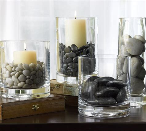 river rock vase filler from pottery barn decor for leisure