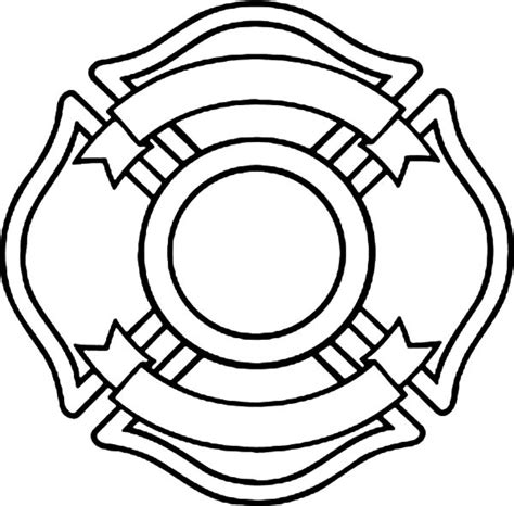 Blank Firefighter Card Template by Dept Blank Logo Clipart Best