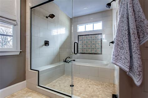 In The Shower by Bathroom Trends Marcelle Guilbeau