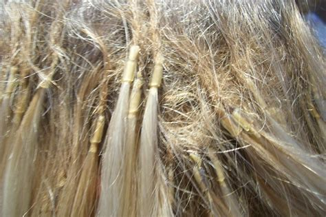 matted photos tangled hair techs celebrities deal with hair extension