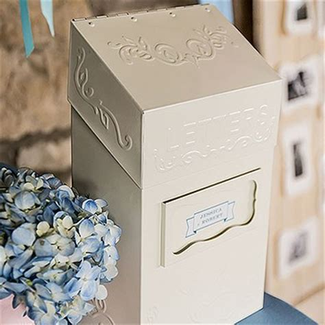 Wedding Box Delivery by Quot Special Delivery Quot Letter Box Weddingstar