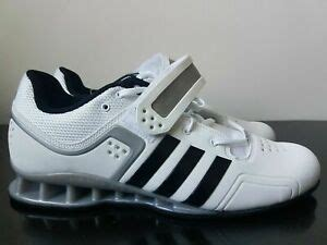 adidas adipower weightlifting powerlift trainer shoes white size 11 5 14 15 m257