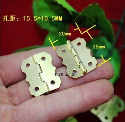 A23 Hardware Supplies Antique Gold Iron Hinges For Gifts