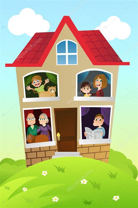 Happy Home Images Cartoon