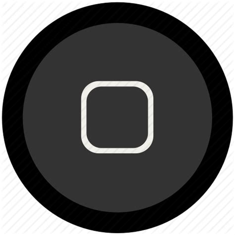 Homebutton Iphone New Home Button Iphone Itouch home buttons png images