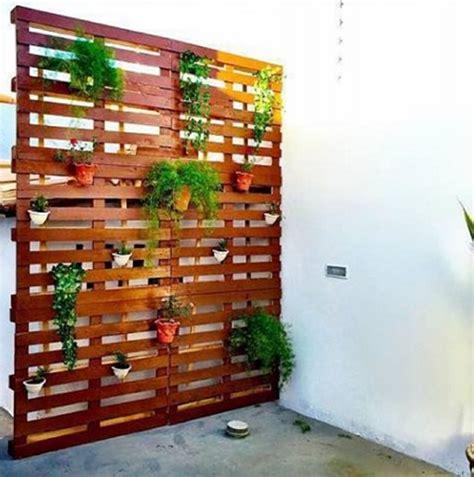 patio planter ideas diy patio decoration with pallet planter pallet ideas