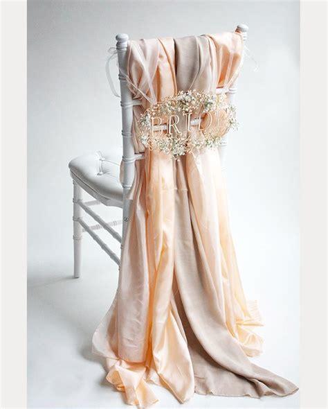 draped fabric 12 beautifully draped fabric wedding chair ideas mon