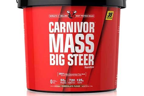 Carnivor Mass 6lb carnivor mass big steer a 17lb of carnivor mass