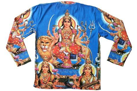 mata mata tattoo prices durga mata lion hindu religion tattoo goa dj t shirt l 21434
