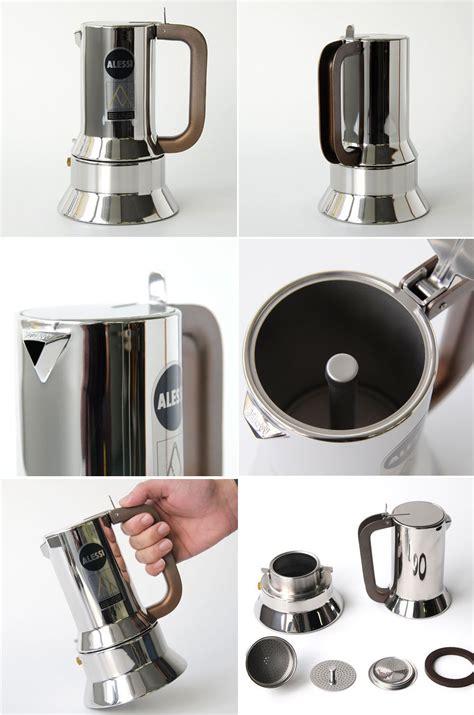 Alessi 9090/6 Stovetop Espresso Coffee Maker 6 Cup: NOVA68.com