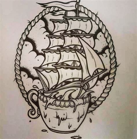 storm in a teacup tattoo inspirationtattoo ideas tattoo