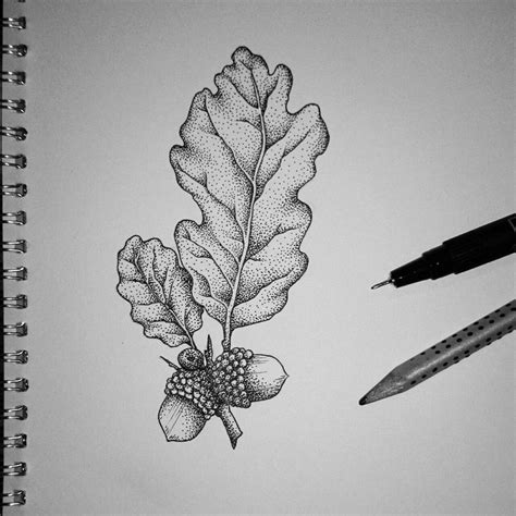 oak leaf tattoo best 25 oak leaf tattoos ideas on
