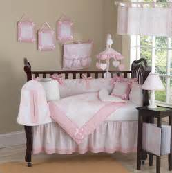 baby cribs sets pink and white toile baby crib bedding 9pc