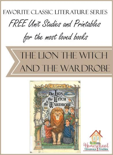 Witch Wardrobe Free by Free Unit Studies And Printables For The Most Loved Books
